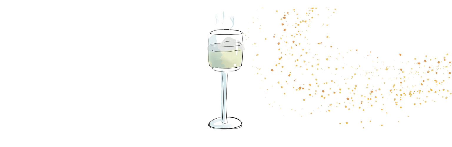 Illustrated image of a cream cocktail
